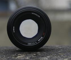 50mm Festbrennweite mit Offenblende