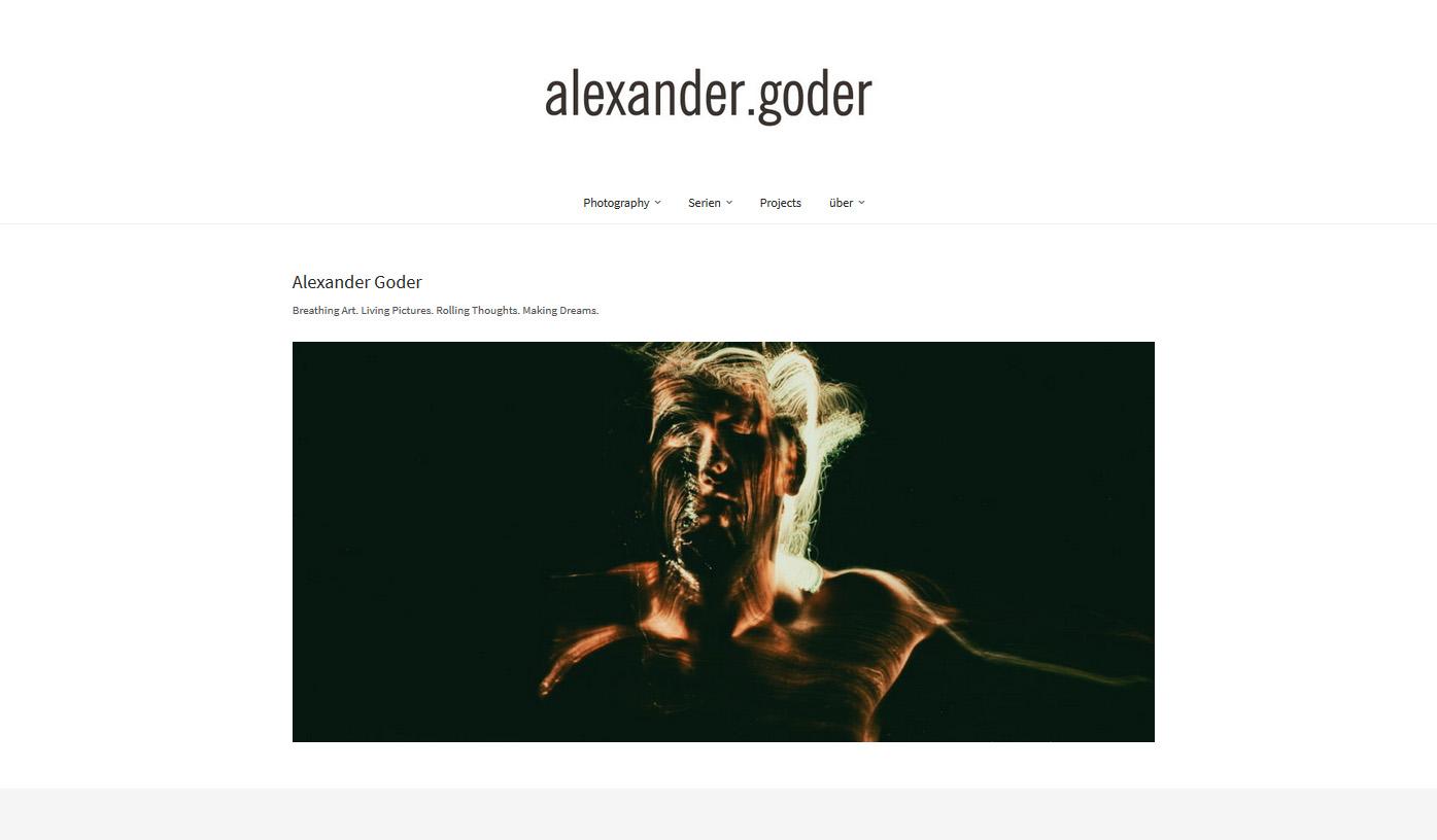 Webseiten für Fotografen